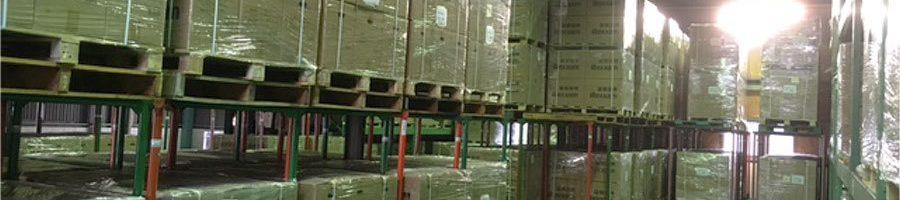 倉庫での長期保管、入出荷ならお任せください
